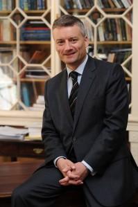 Dr Patrick Prendergast, Provost of Trinity College Dublin