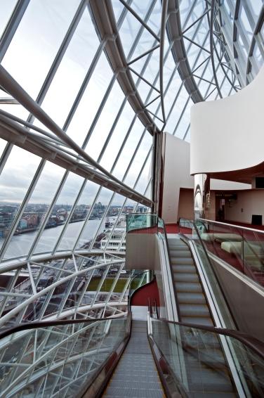 Atrium - Escalator View from Level 5