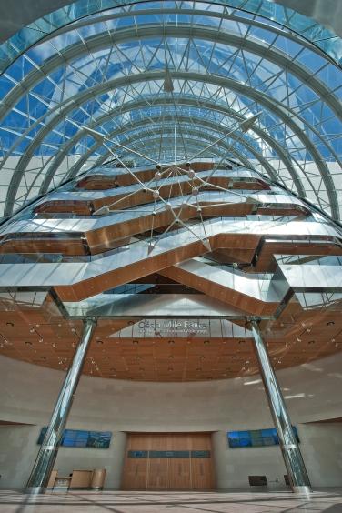 ConfCentreDublinGround Floor Foyer With View Up Drum