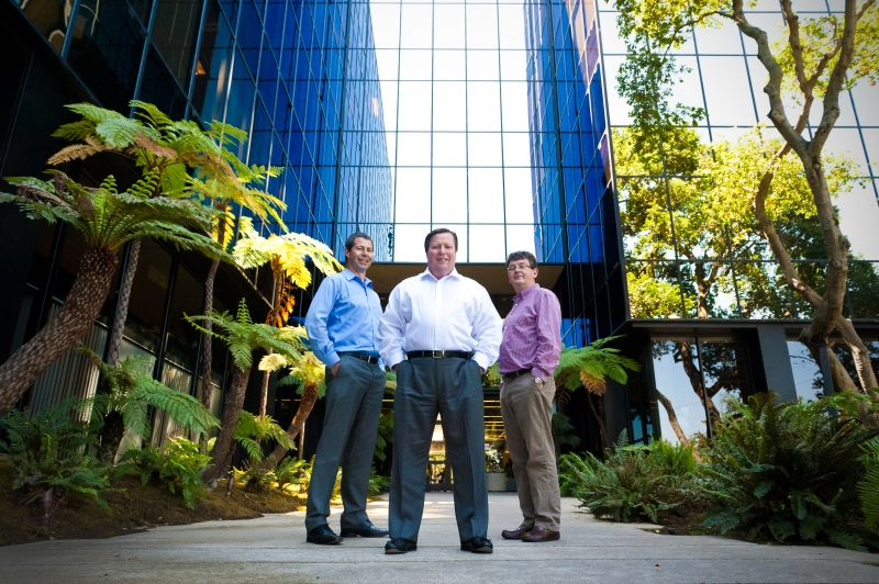 Daybreak's management team (pictured, left to right): Patrick Roberts, CTO/ CISO; Kevin Barrett, CEO; Patrick Pollard, CBO.